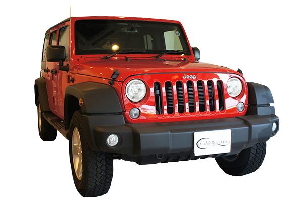 Jeep ラングラー アンリミテッド red