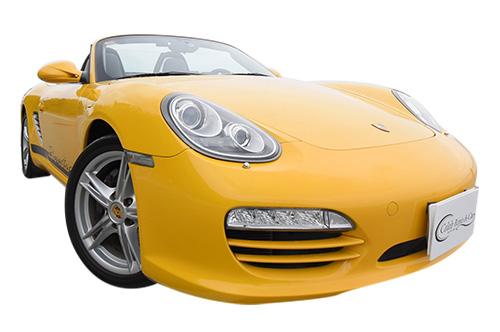 PORSCHE ボクスター yellow