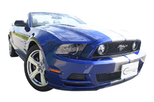 Ford マスタング GT 後期 blue