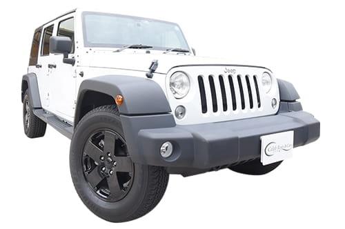 Jeep ラングラー アンリミテッド white
