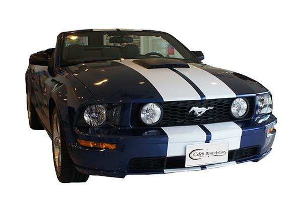 Ford マスタング GT 前期 blue