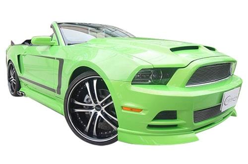 Ford マスタング 後期 green