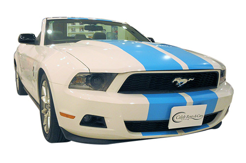 Ford-マスタング アピアランス white