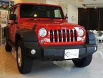 Jeep-ラングラー アンリミテッド red