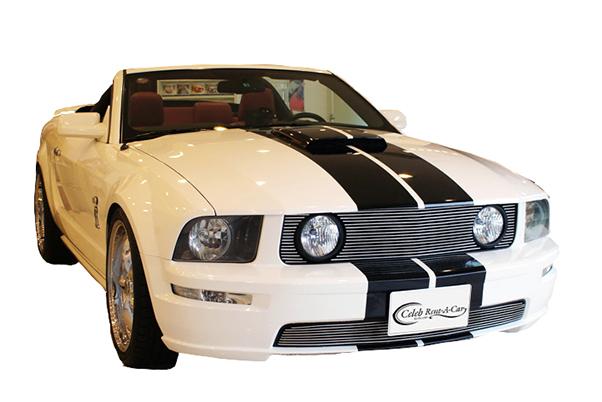 Ford マスタング GT 前期 white