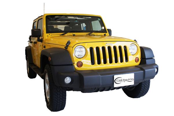 Jeep ラングラー アンリミテッド yellow
