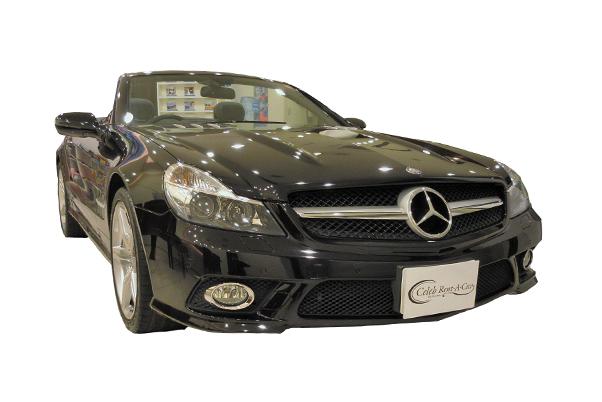 Mercedes-Benz-SL350 black