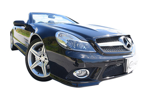 Mercedes-Benz SL350 black